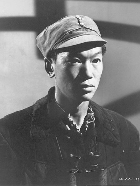 "Benson Fong in ""China Sky"" (1945)"