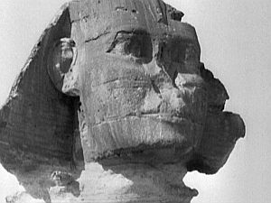 Travel dissolve: The Sphinx, Egypt.