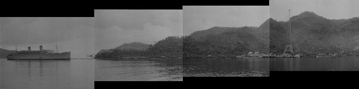 "Panorama of Pago Pago as seen in ""Dangerous Money"""